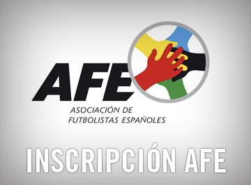 Inscripción AFE